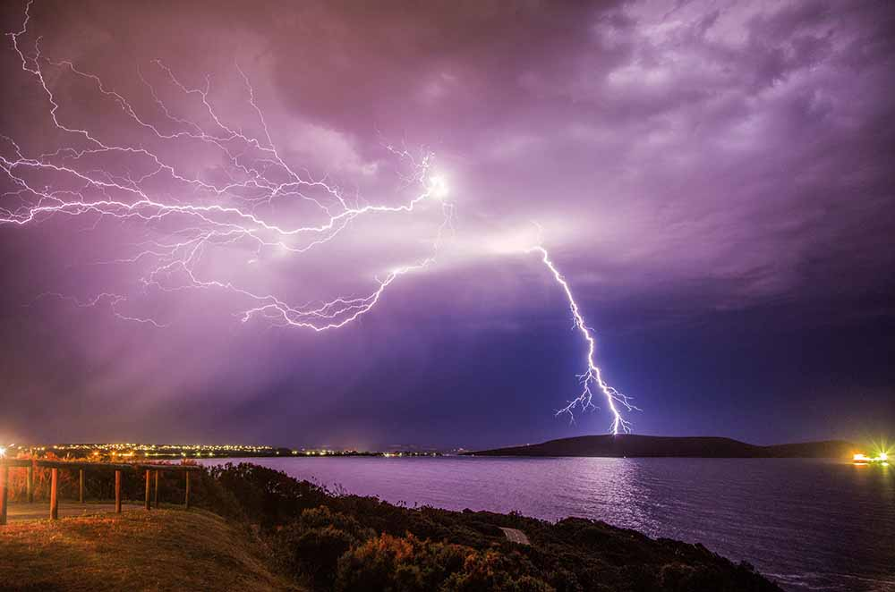 Lightning over Middleton Beach, Albany, Western Australia, 14 November 2015—Jenny Feast Photography