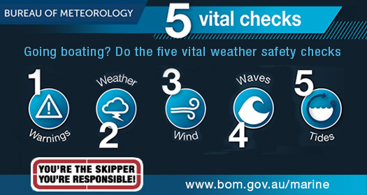 Five vital safety checks for boaters