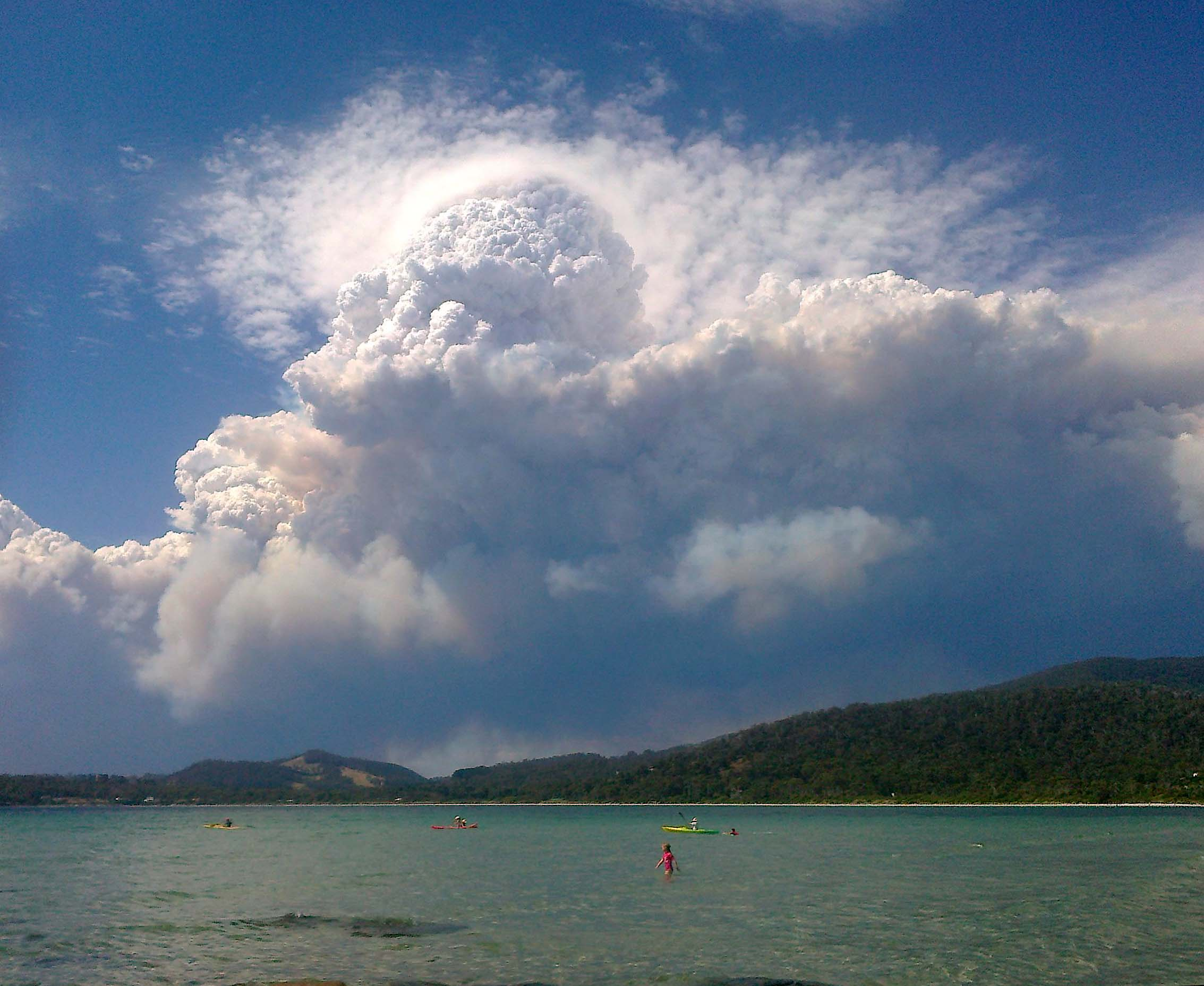 When bushfires make their own weather - Social Media Blog