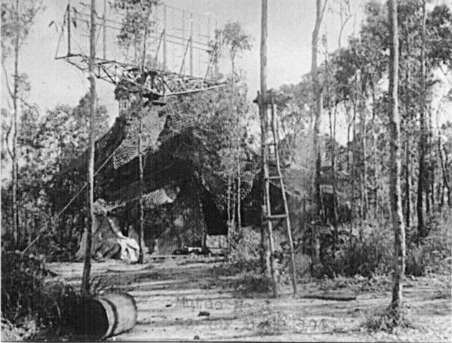 World War II radar in Cape York