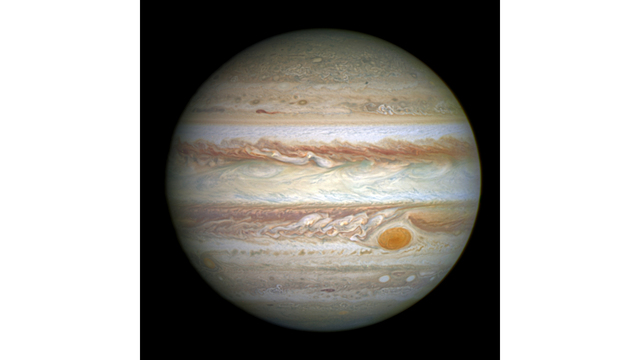 Jupiter, © NASA, ESA and A. Simon (Goddard Space Flight Center)