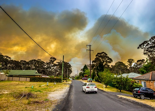 Image: Blue Mountains fires of 2013, near Mt Boyce. Photo by Gary P Hayes, supplied by NSW RFS.