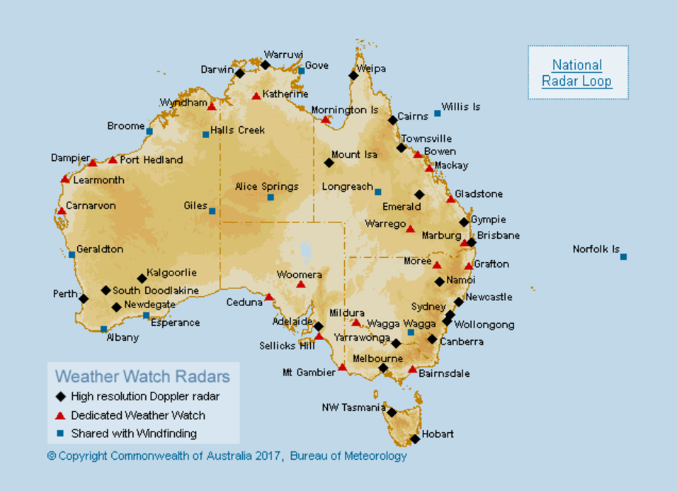 How does a weather radar work social media blog bureau of meteorology - Meteorology bureau australia ...