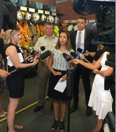 Press conference: South Australian heat