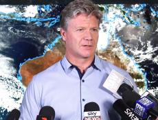 VIDEO: Press conference regarding severe weather in eastern Australia