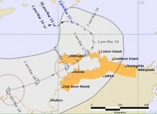 Tropical Cyclone Watch for the NT
