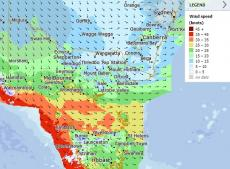 AUDIO: More windy weather for Victoria