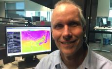 Gusty change and significant temperature drop forecast for Melbourne