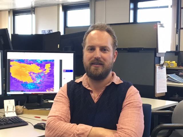 Senior forecaster, Alex Melitsis